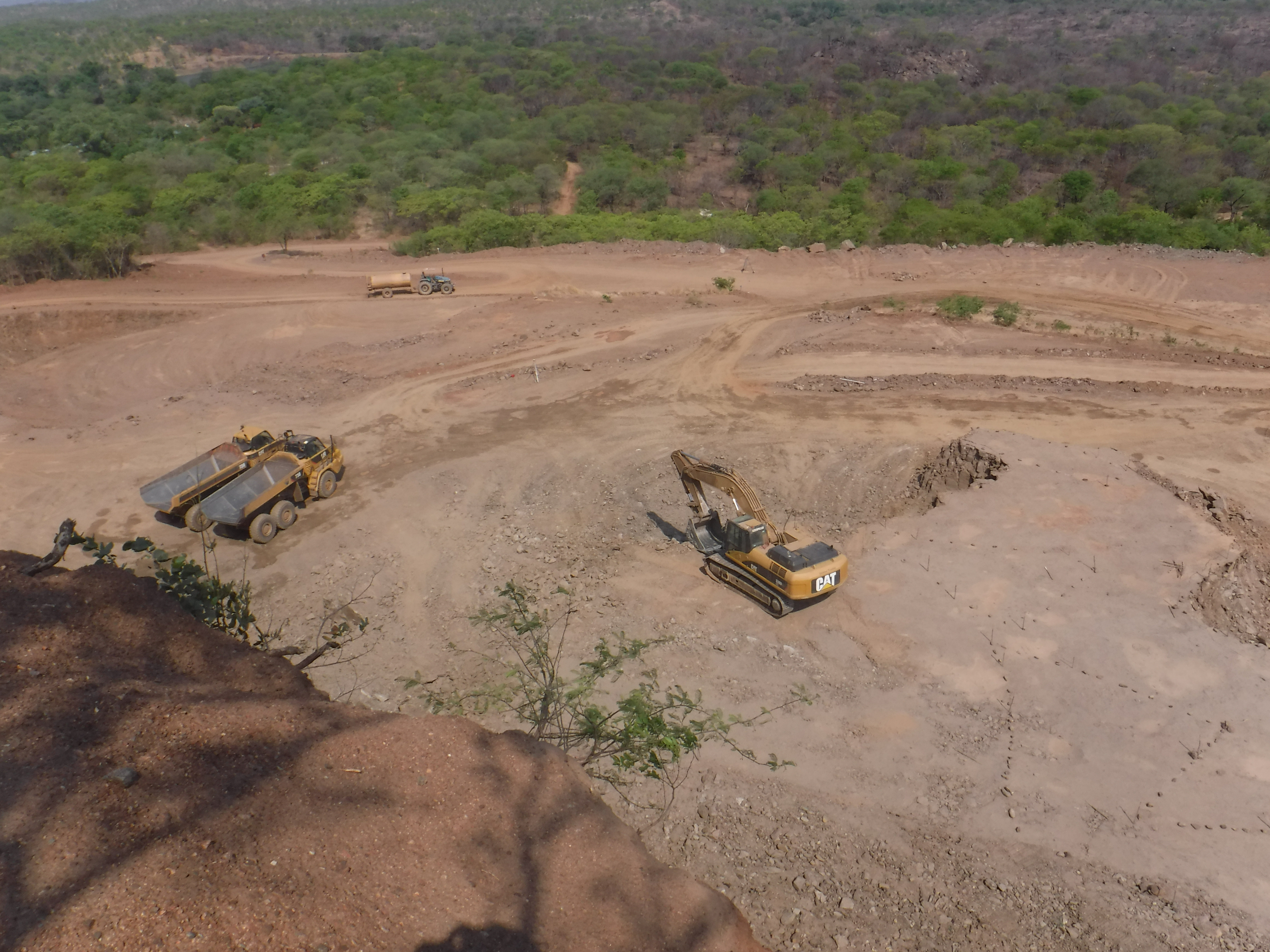 RHA Open Pit Mining To 935 Bench